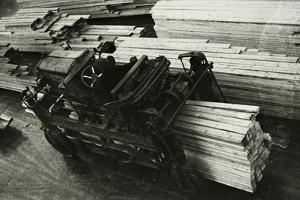 In a Woodworking Factory, Russia, 1950S
