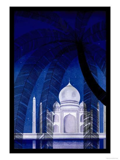 In Agra-Frank Mcintosh-Art Print