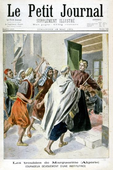 In Algeria, Margaret in Trouble, 1901--Giclee Print