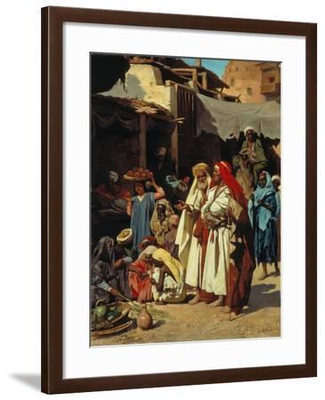 In an Arab Souq-J Carnelli-Framed Giclee Print