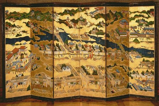 In and around the Environs of Kyoto, Edo Period, 17th Century--Giclee Print