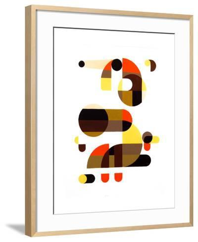 In and Out-Antony Squizzato-Framed Art Print