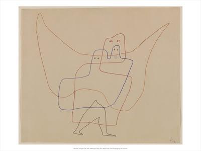 In Angel's Care, 1931-Paul Klee-Art Print