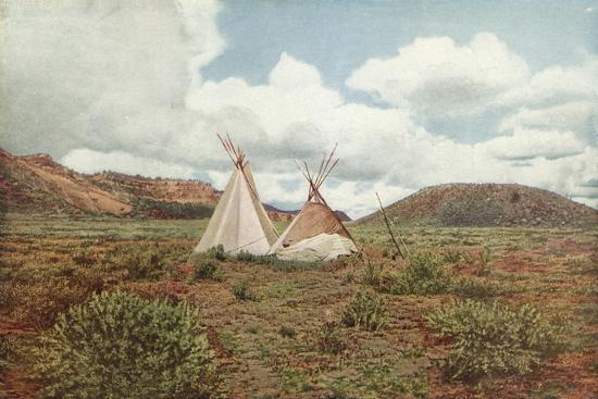 In Apache Land, Arizona--Photographic Print