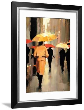 In Barcelona-Lorraine Christie-Framed Art Print