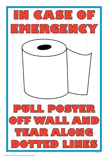 In Case of Emergency II-Russ Lachanse-Art Print