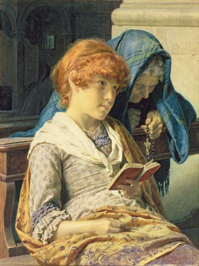 In Church, 1883-Luigi da Rios-Giclee Print