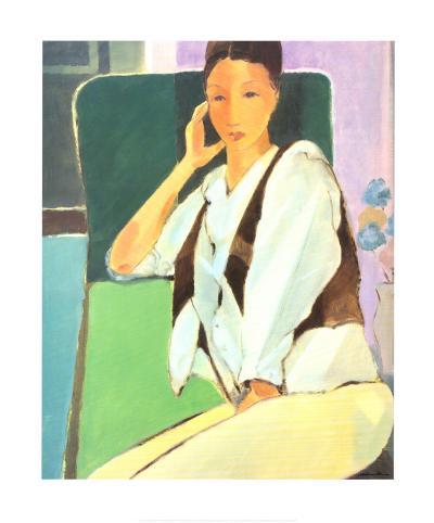 In Conversation-Mortimer Robinson-Art Print
