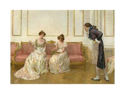 In Doubt, 1905- G Whitehead & Co-Giclee Print