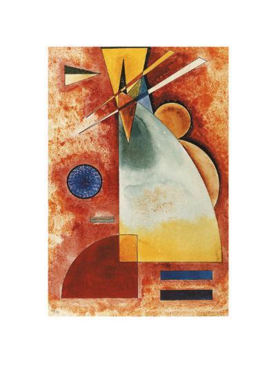 In einander, c.1928-Wassily Kandinsky-Art Print