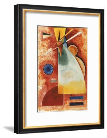 In einander, c.1928-Wassily Kandinsky-Framed Art Print