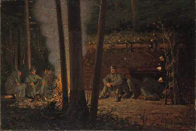 In Front of Yorktown-Winslow Homer-Giclee Print