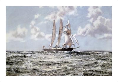 In Full Sail-Montague Dawson-Premium Giclee Print