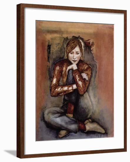In Her World, 2005-Stevie Taylor-Framed Giclee Print