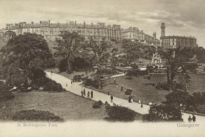 In Kelvingrove Park, Glasgow- Scottish Photographer-Photographic Print