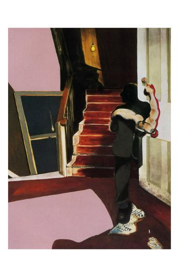 In Memory of George Dyer, c.1971-Francis Bacon-Art Print