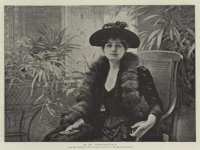 In My Conservatory-Edouard Debat-Ponsan-Giclee Print