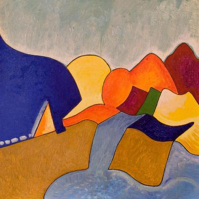 In My Dreaming, Monemvasia Presents Itself Like This, 2006-Jan Groneberg-Giclee Print