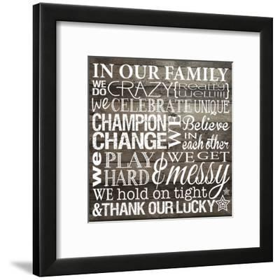 In Our Family-Melody Hogan-Framed Art Print