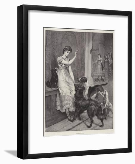 In-Patients-Samuel Edmund Waller-Framed Giclee Print