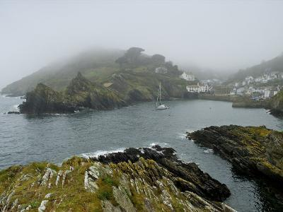 In Polperro, a Small Fishing Village, on the South Coast of Cornwall-Jim Richardson-Photographic Print