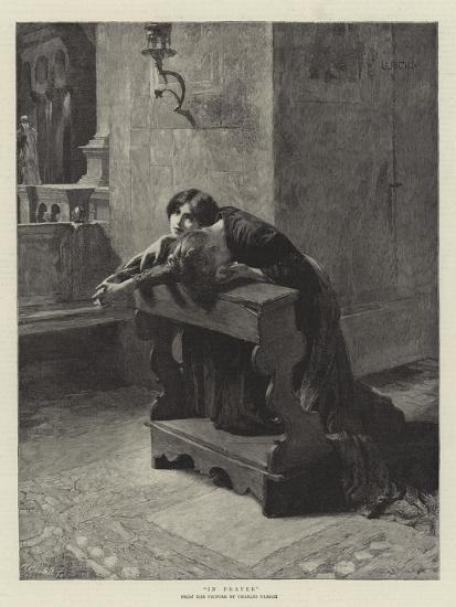 In Prayer-Charles Frederic Ulrich-Giclee Print