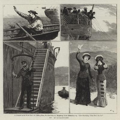 In Quarantine-Joseph Nash-Giclee Print
