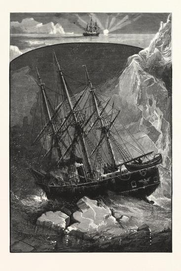 In Search of the North Pole--Giclee Print