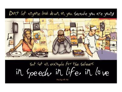 In Speech, In Life, In Love--Art Print