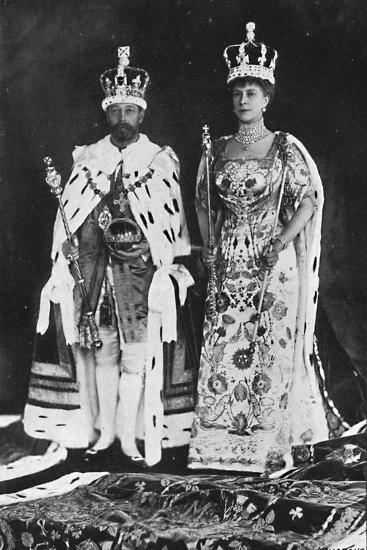 'In spring 1910, King Edward VII died, in March 1911, King George V was crowned', 1911, (1945)-Unknown-Photographic Print