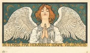 In Terris Pax Hominibus Bonae Voluntatis Postcard