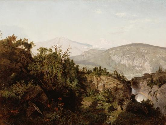 In the Adirondack Mountains, 1857-William Trost Richards-Giclee Print