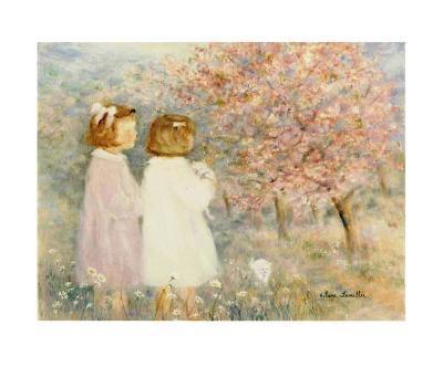 In the Apple Orchard-H?l?ne L?veill?e-Art Print