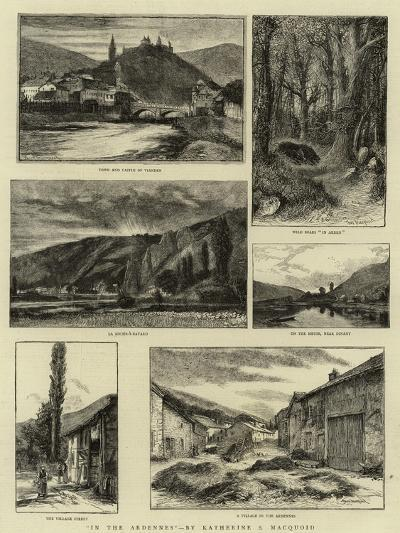 In the Ardennes--Giclee Print
