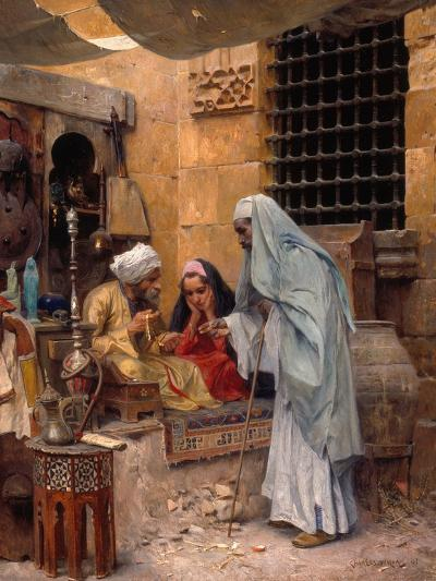In the Bazaar, 1901-Charles Wilda-Giclee Print