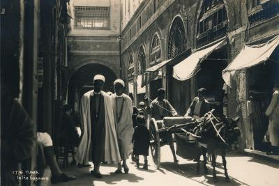 In the Bazaar, Tunis, Egypt, 1936--Photographic Print