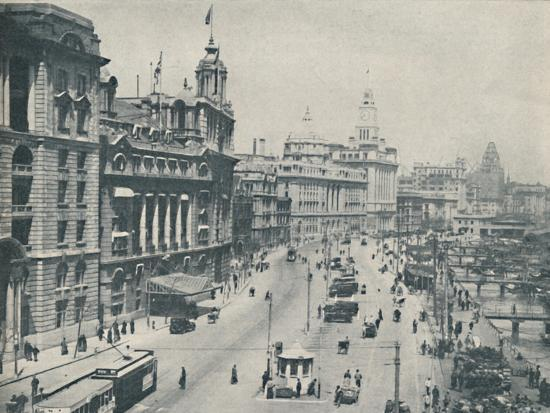 'In the Bund The Enterprising Foreigner Has Come To Stay', c1935-Unknown-Photographic Print