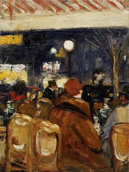 In the Cafe-Lesser Ury-Giclee Print