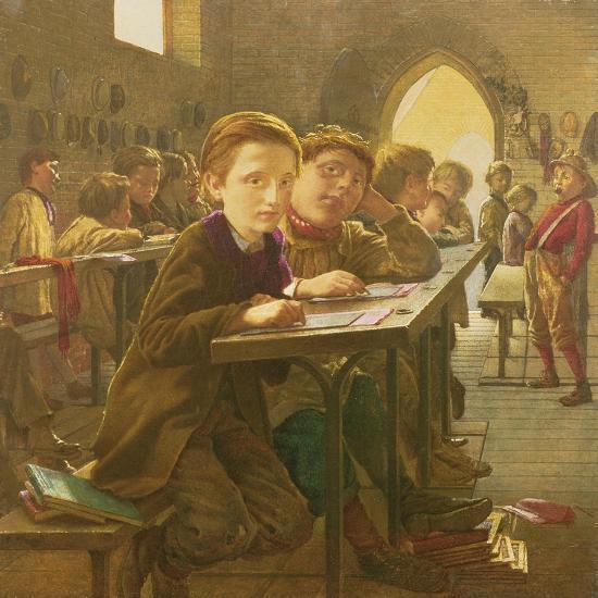 In the Classroom-J^ Harris-Giclee Print
