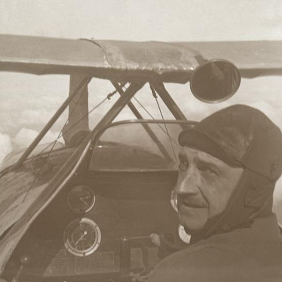 In the clouds at 1200 metres, c1914-c1918-Unknown-Photographic Print