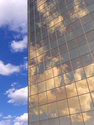 In the Clouds-Monika Burkhart-Photographic Print