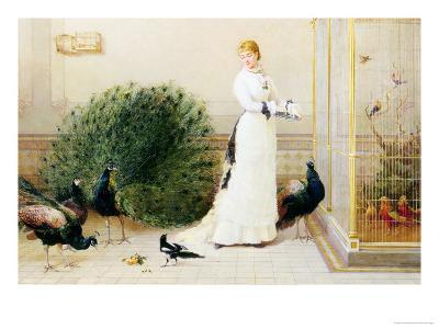 In the Conservatory-Heywood Hardy-Giclee Print