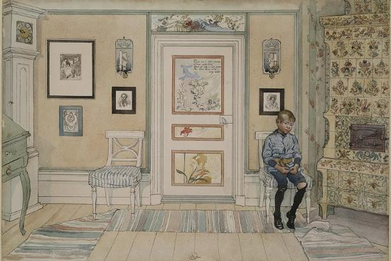 In the Corner, From 'A Home' series, c.1895-Carl Larsson-Giclee Print