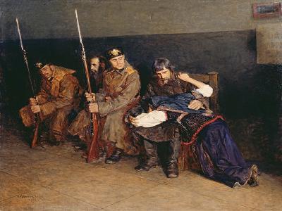 In the Corridor of the District Court, 1897-Nikolaj Alekseevich Kasatkin-Giclee Print