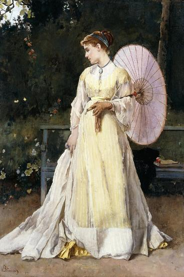 In the Country-Alfred Emile L?opold Stevens-Giclee Print
