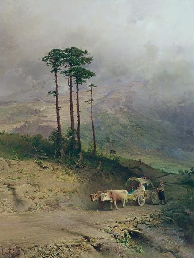 In the Crimean Mountains, 1873-Fedor Aleksandrovich Vasiliev-Giclee Print