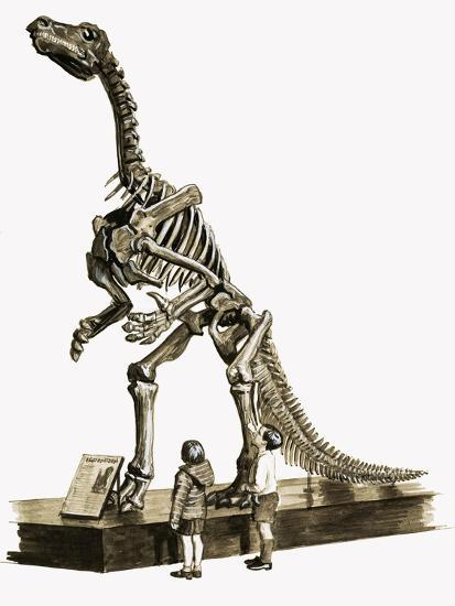In the Days of the Dinosaurs: A Hundred Million Year Old Mystery-Roger Payne-Giclee Print