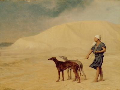 In the Desert-Jean Leon Gerome-Giclee Print