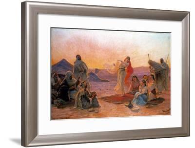 In the Desert-Otto Pilny-Framed Giclee Print