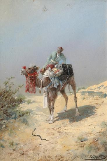 In the Desert-Nikolai Nikolayevich Karasin-Giclee Print